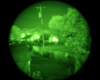 night vision helicopter